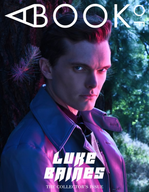 View A BOOK OF Luke Baines Cover 1 by A BOOK OF Magazine