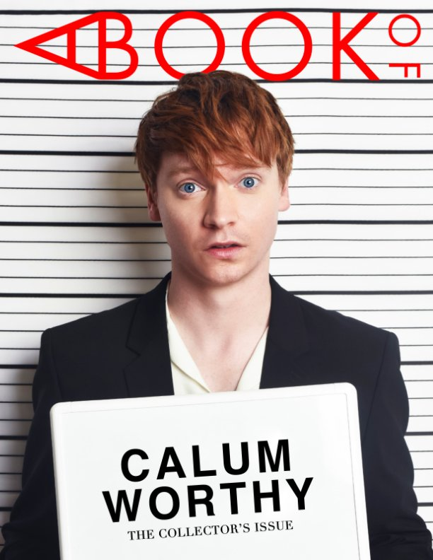 View A BOOK OF Calum Worthy by A BOOK OF Magazine