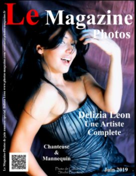 Le Magazine-Photos Numéro Spécial Delizia Leon artiste complète, Chanteuse et Mannequin book cover