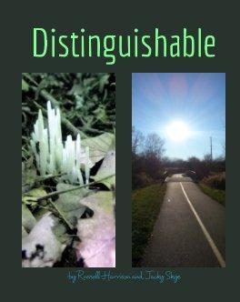 Distinguishable book cover