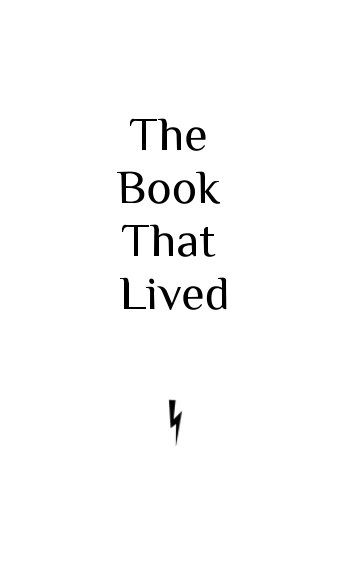 View The Book That Lived by Erica Nicole