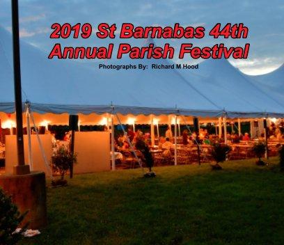 019 St Barnabas 44th Annual Parish Festival book cover