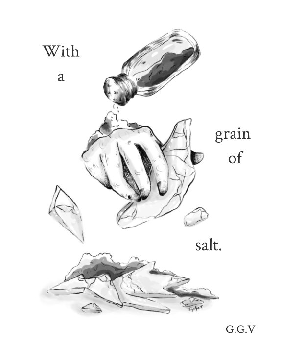View With a Grain of Salt by Gianna Vigorito