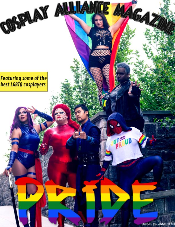 View Cosplay Alliance Magazine Special Pride Issue by individual cosplayers