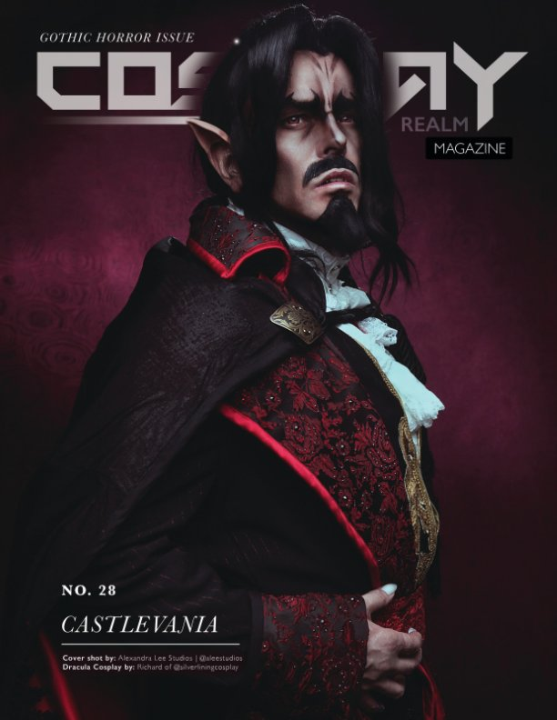 View Cosplay Realm Magazine No. 28 by Emily Rey, Aesthel