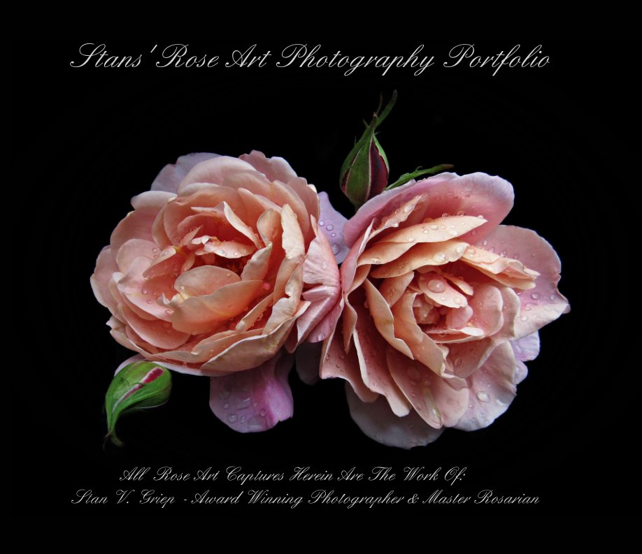 View Stans' Rose Art Photography Portfolio by Stan V Griep