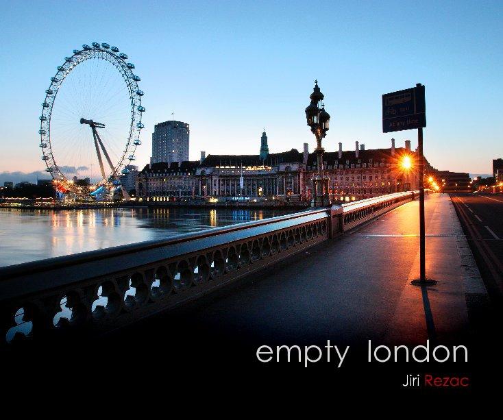 View empty london by Jiri Rezac