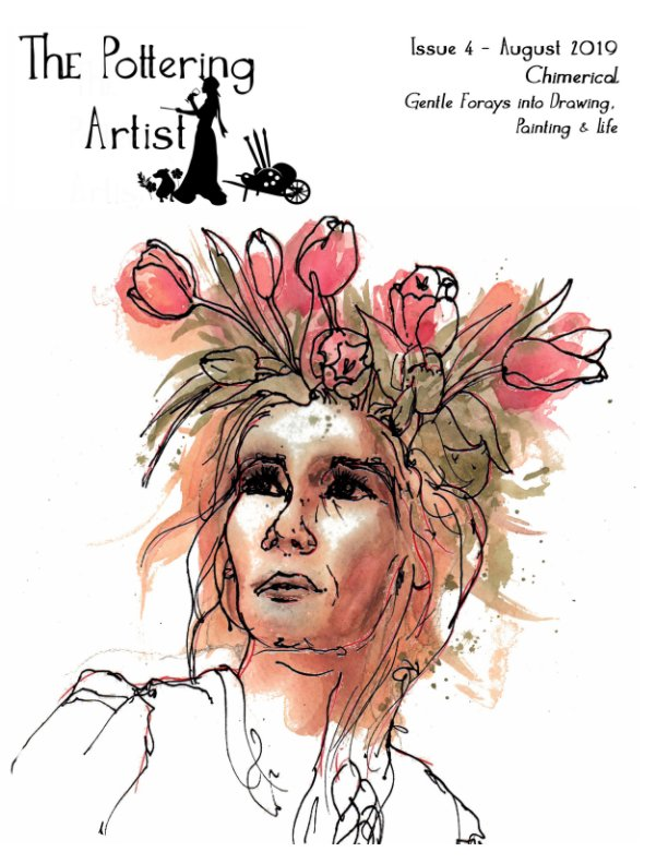 """View Issue 4 """"Chimerical"""" The Pottering Artist by Alison Fennell"""