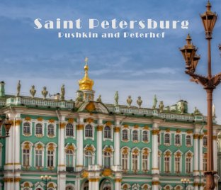 Saint Petersburg Pushkin and Peterhof book cover