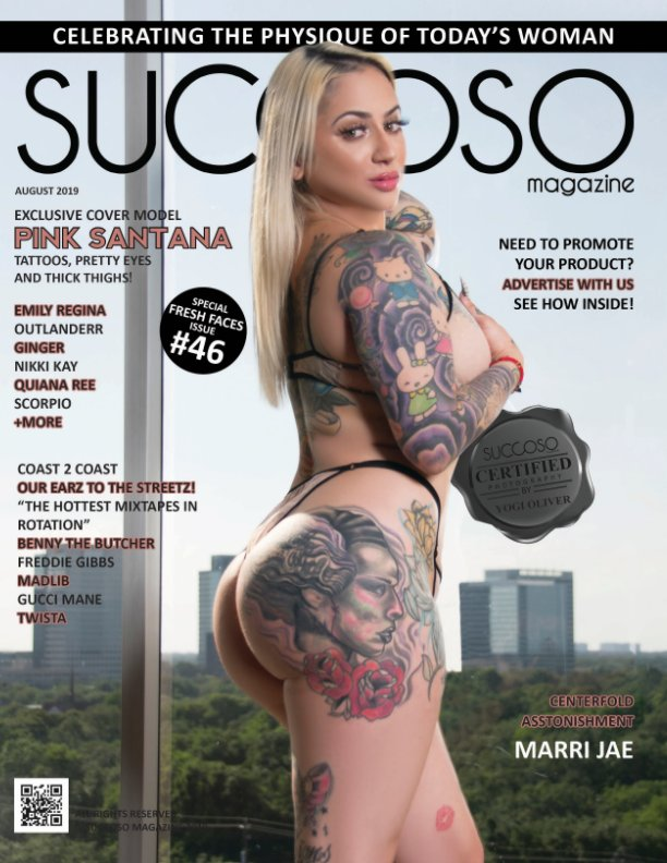 View Succoso Magazine Issue #46 featuring Double Cover Models Pink Santana / Outlanderr by SUCCOSO MAGAZINE
