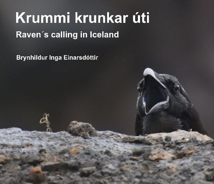 View Krummi krunkar úti by Brynhildur Inga Einarsdóttir
