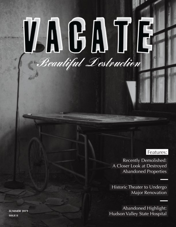 View Vacate Magazine: Issue II by Amanda Milot