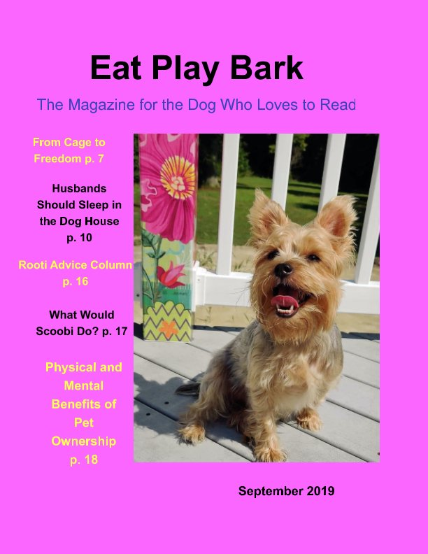 View Eat Play Bark by Barb Beck