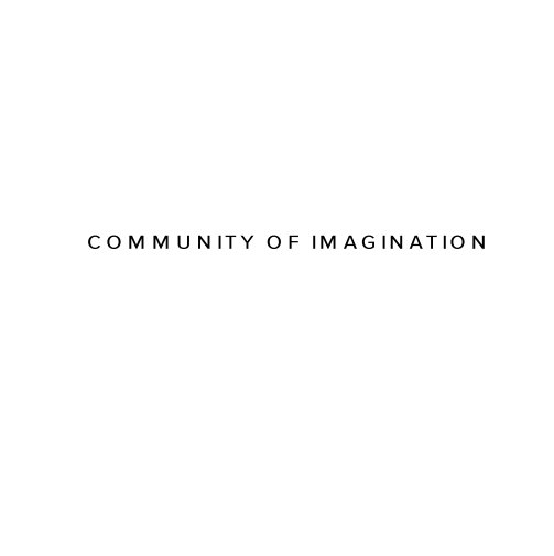 View The Process, Community of Imagination 2019 by SMART