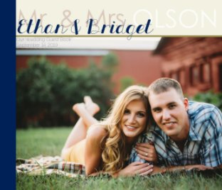Ethan and Bridget Olson Guest Book book cover