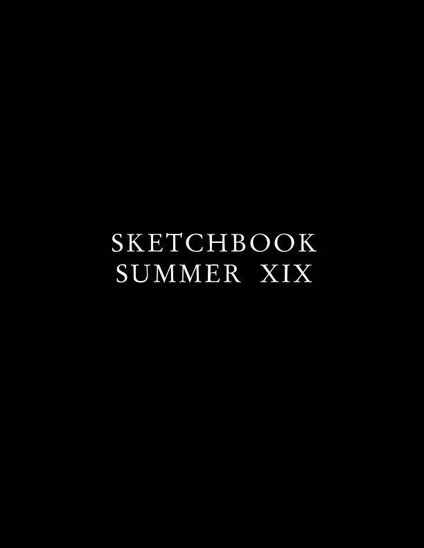 View Sketchbook Summer XIX by Matt Marchand