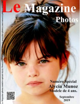 Le Magazine-Photos numéro spécial Alycia Munoz book cover