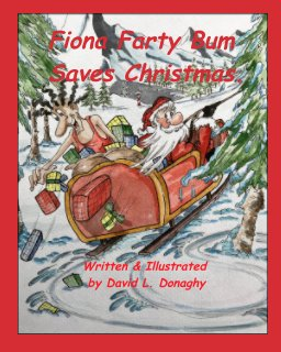 Fiona Farty Bum saves Christmas book cover