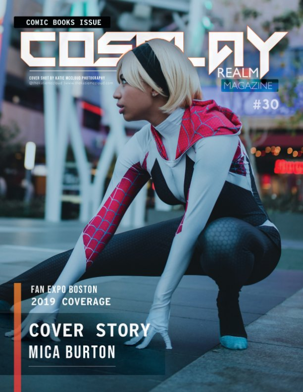 View Cosplay Realm Magazine No. 30 by Emily Rey, Aesthel