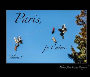 Paris, je t'aime book cover