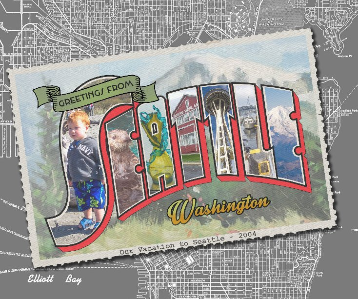 View Greetings from Seattle by Connie Tomasula