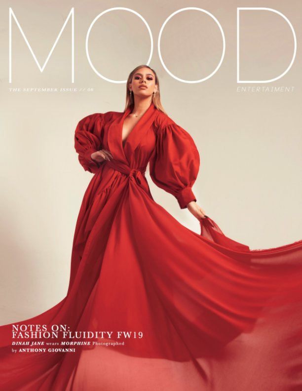 View DINAH JANE x MOOD September issue cover by MOOD Magazine