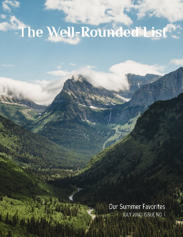 Ver The Well-Rounded List Magazine por Brittany Barb