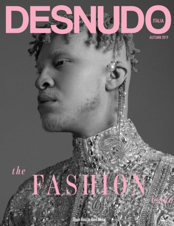 View Desnudo Magazine Italia Issue 4 - Shaun Ross Cover by Desnudo Magazine Italia