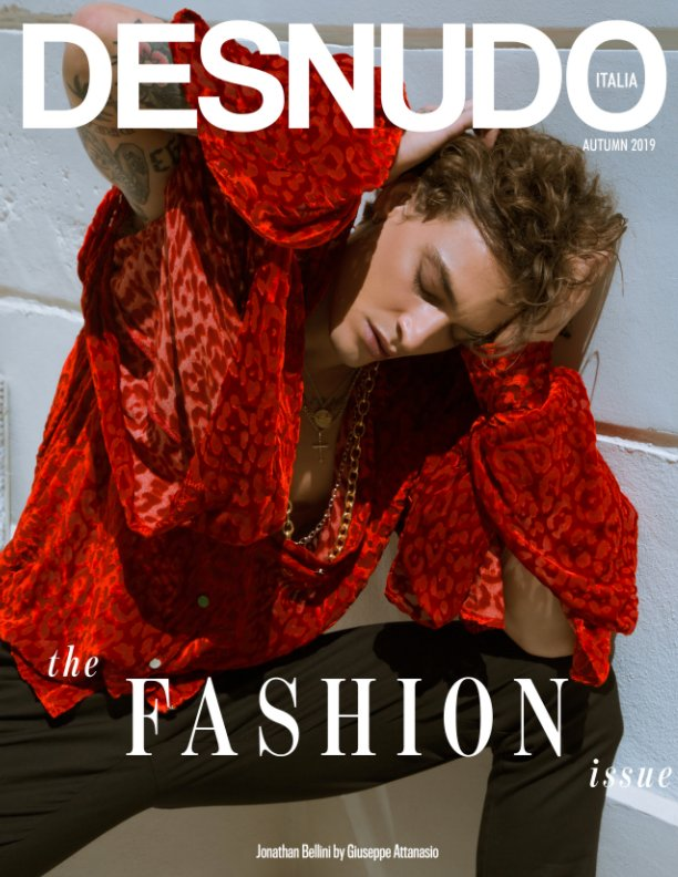 Ver Desnudo Magazine Italia Issue 4 - Jonathan Bellini Cover por Desnudo Magazine Italia