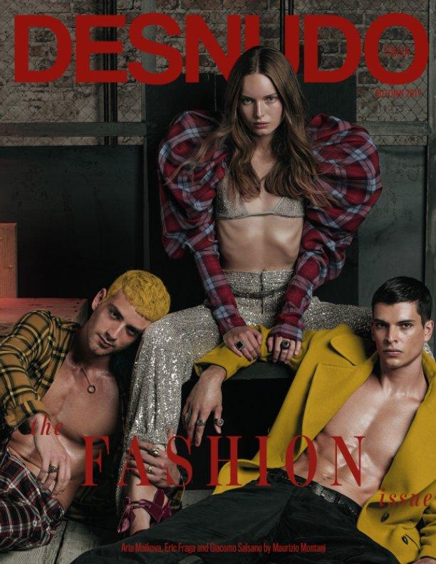 Bekijk Desnudo Magazine Italia Issue 4 - Aria, Eric and Giacomo Cover op Desnudo Magazine Italia