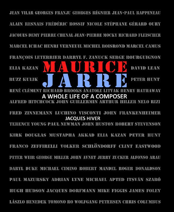 View Maurice Jarre - English edition by Jacques Hiver