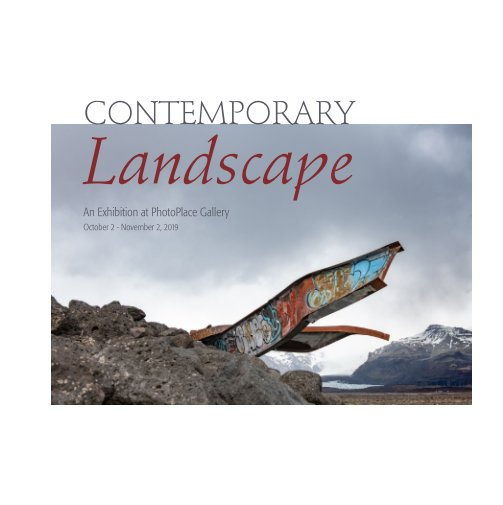 View Contemporary Landscape, Hardcover Imagewrap by PhotoPlace Gallery