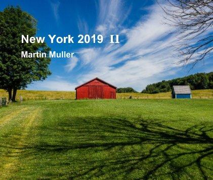New York 2019 II book cover