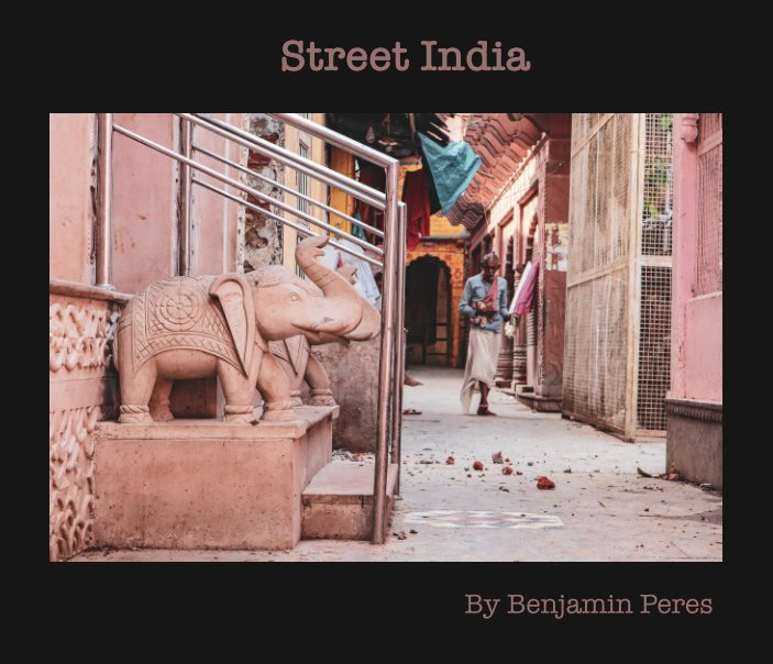 View Street India by Benjamin Peres