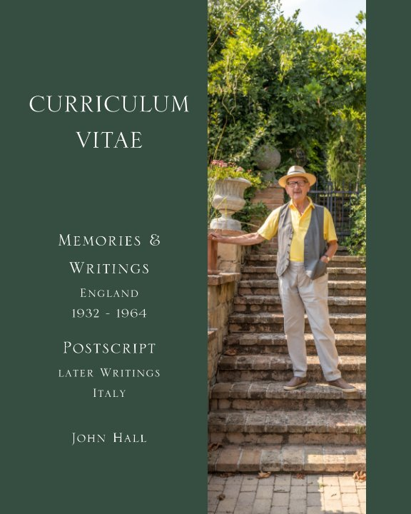 View Curriculum  Vitae by John Hall
