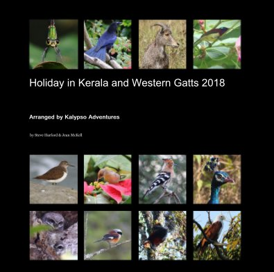Holiday in Kerala and Western Gatts 2018 book cover