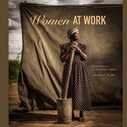 View Women at Work, Hardcover Imagewrap by PhotoPlace Gallery