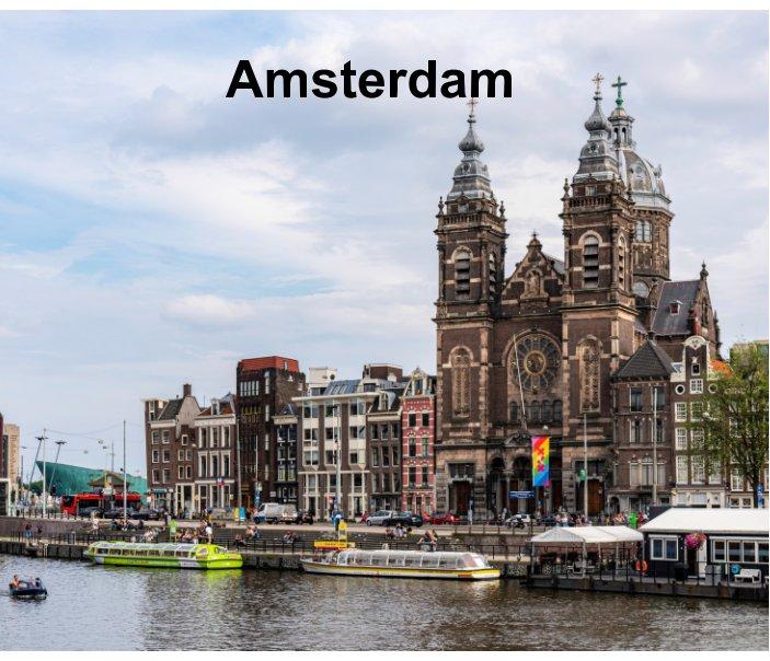 View Amsterdam by Jean-Francois Baron