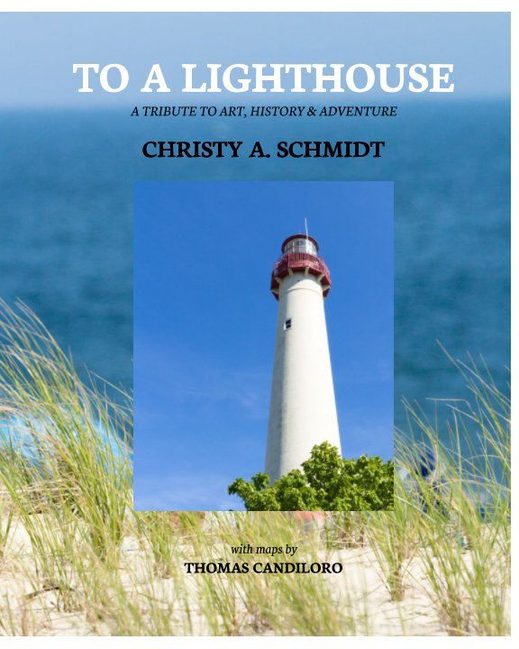View To A Lighthouse by Christy A. Schmidt