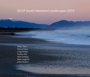QCCP South Westland Photography Workshop 2019 book cover