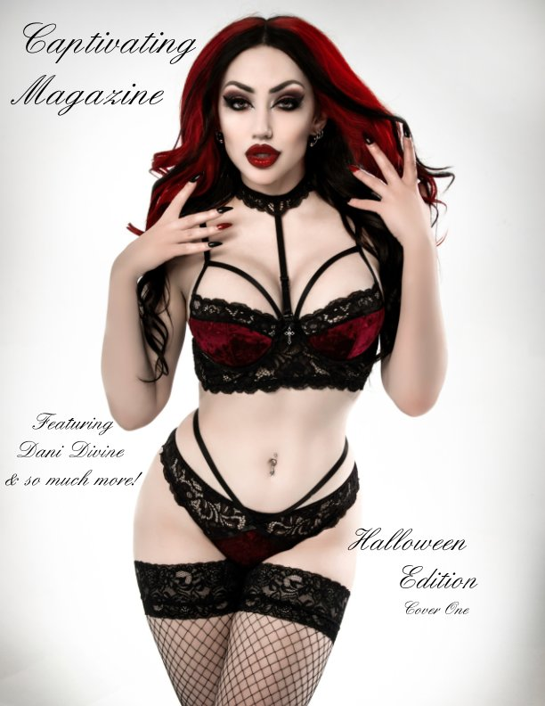 View Captivating Magazine Halloween Edition Cover 1 by Sarah Pauley, Jeremy Pauley