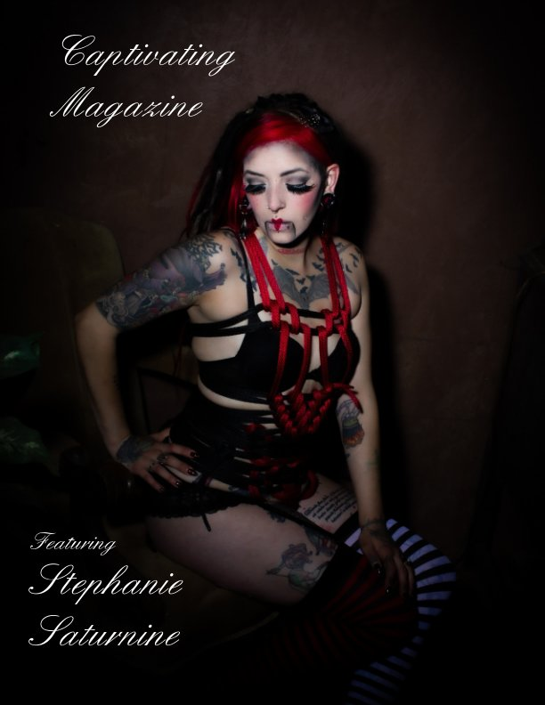 View Captivating Magazine Halloween Edition Cover 2 by Sarah Pauley, Jeremy Pauley