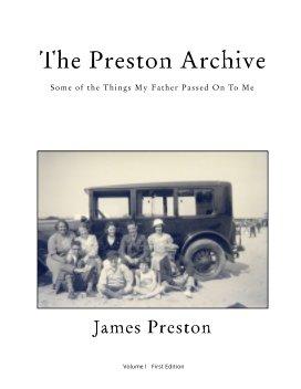 The Preston Archive I book cover