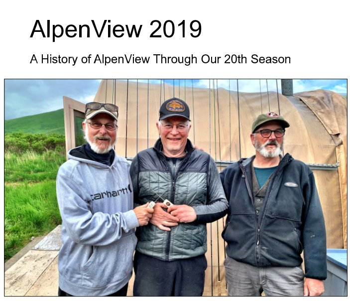 View AlpenView 2019 by Dave Jones