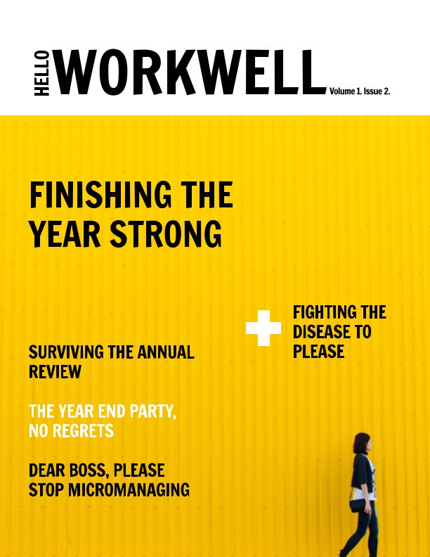 View Hello Workwell Magazine Issue 2 Volume 1 by Hello Workwell
