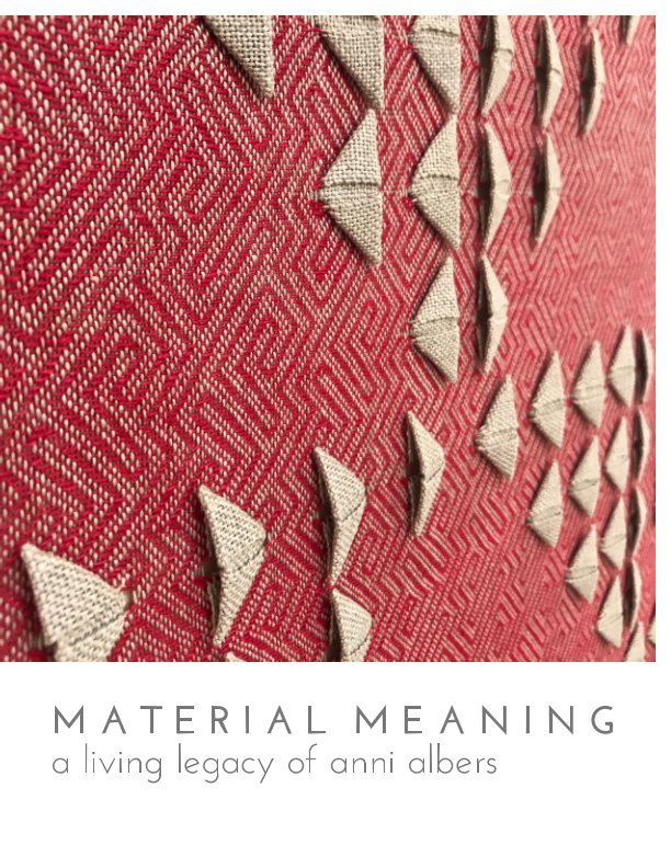 View Material Meaning: A Living Legacy of Anni Albers by Taylor-Brown, McLaughlin