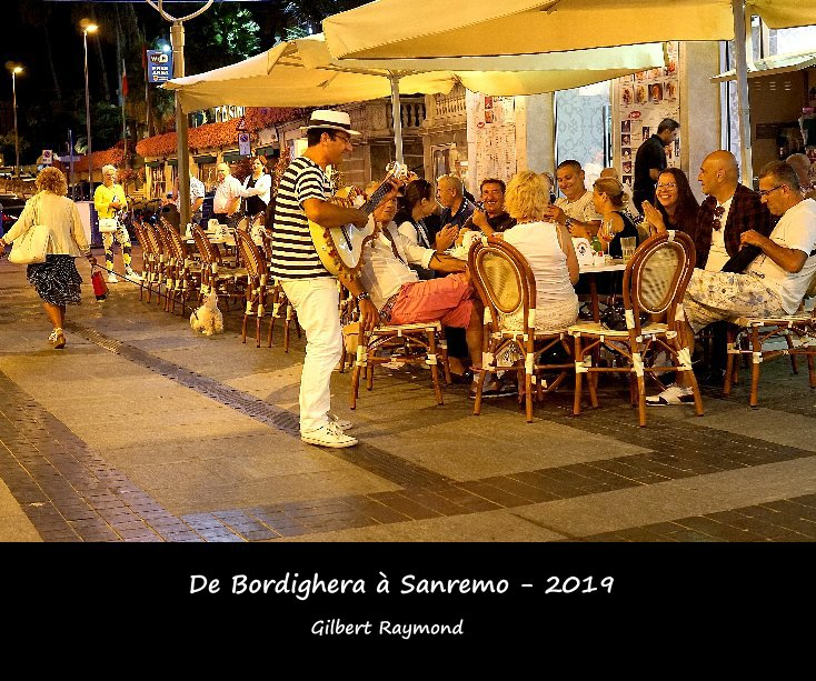 View De Bordighera à Sanremo - 2019 by Gilbert Raymond