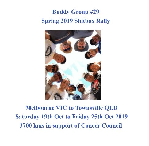 View 2019 Spring Shitbox Rally Buddy Group #29 by Charles Hill