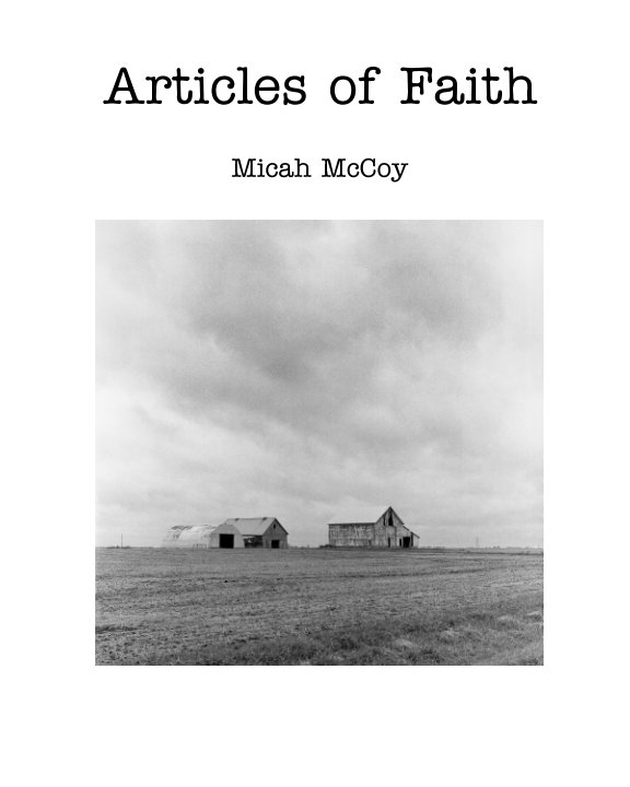View Articles of Faith Zine by Micah McCoy