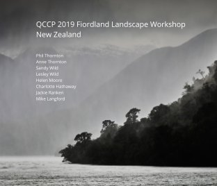 QCCP Fiordland Landscapes 2019 book cover